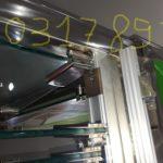 Cửa kính xếp, cửa kính lùa xếp- Nhôm kính Trung Đức