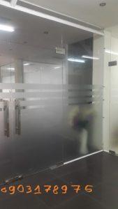 Vách kính văn phòng, thợ lắp vách kính – nhôm kính Trung Đức