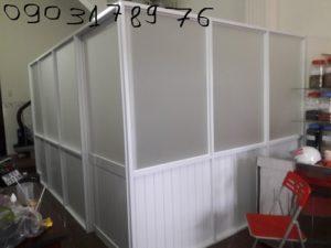 Vách nhôm văn phòng – Thi công vách nhôm văn phòng- Vách nhôm văn phòng tp hcm